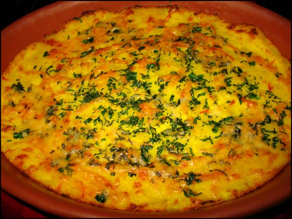 Gratin of Celery Root and Yukon Gold Potatoes