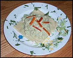 Pumpkin Ravioli Californian with Pipian